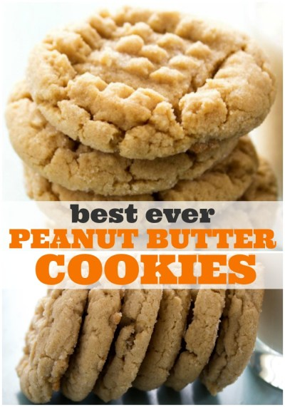 BEST EVER SOFT PEANUT BUTTER COOKIES - A Dash of Sanity