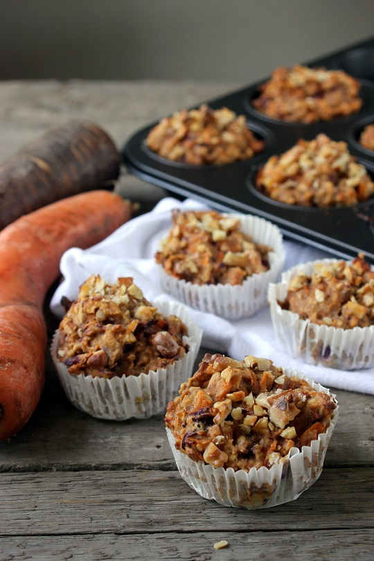 Breakfast-carrot muffins 5