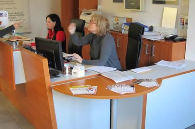 Reception of a company Data