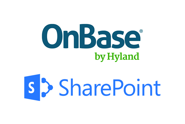 Hyland OnBase and Microsoft SharePoint Software DataBank Onbase