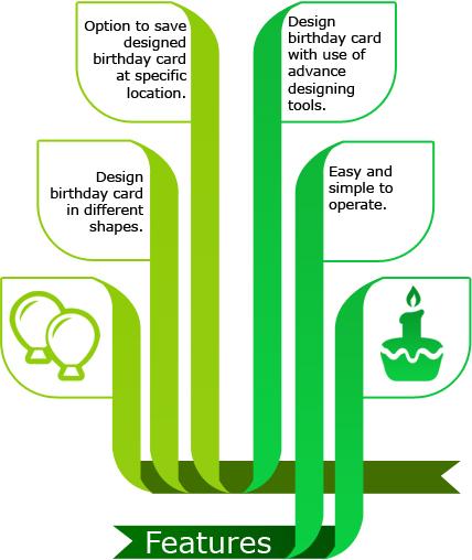 Birthday card maker software design funny greeting happy birthday