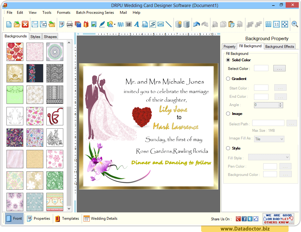 invitation making software free download