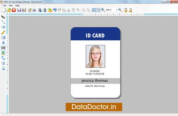 Special student identification card downloads