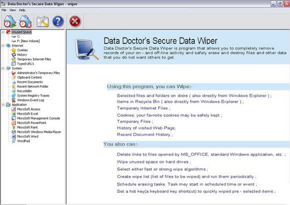 Data wiper software keeps privacy of confidential private data - Event Program