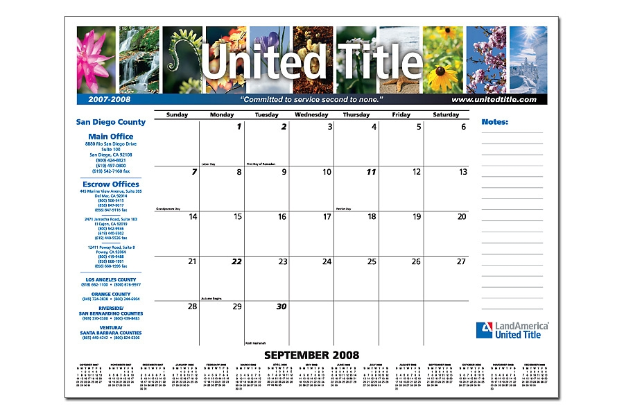 Promotional Calendar Custom Calendars - calender s
