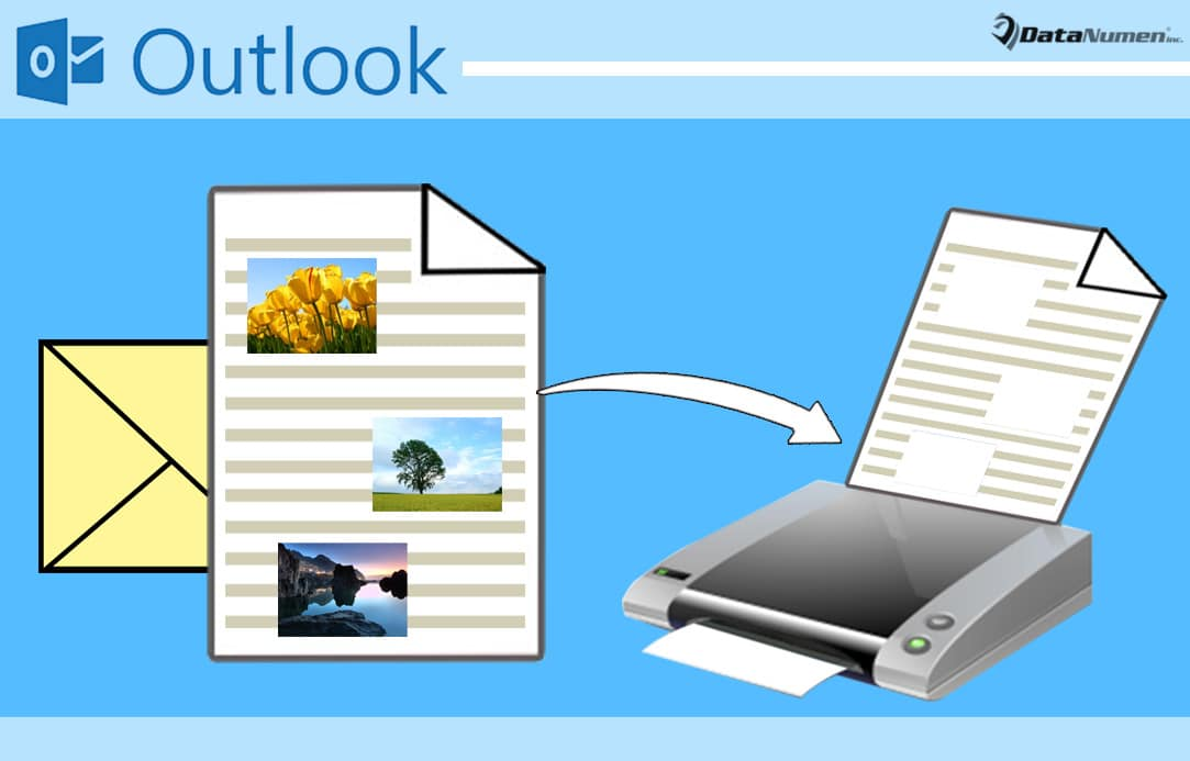 How to Exclude Embedded Images when Printing an Outlook Email - Data