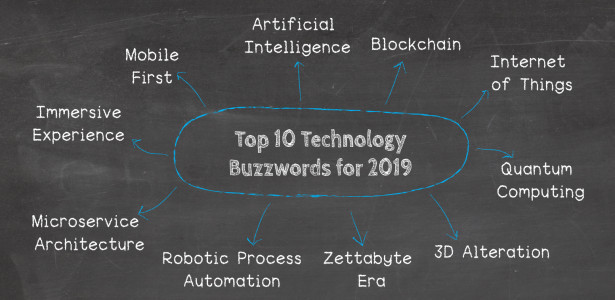 10 IT  Technology Buzzwords For 2019 You Won\u0027t Be Able To Avoid