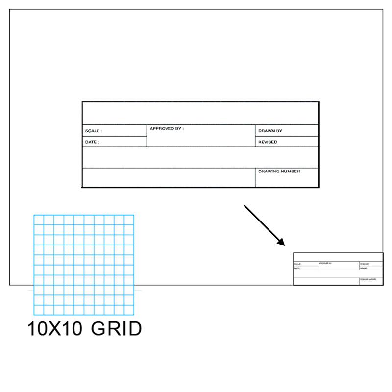 Clearprint 1000HTS-10 16lb Drafting Vellum Non-Repro 10x10 Grid