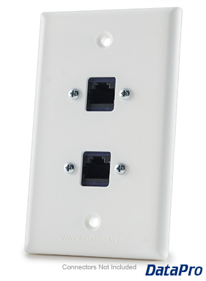clipsal ethernet wall plate wiring
