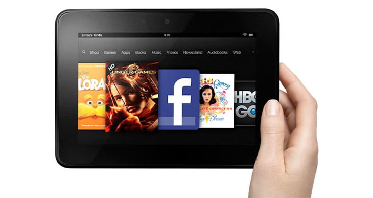 Amazon Kindle Fire HD - 7inch, 1.2 GHz Dual-core CPU, Dolby audio [Review]