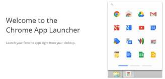 Google brings Chrome App Launcher for Windows users