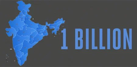 India touches 1 billion Telephone Subscribers Milestone (TRAI)