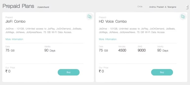 Reliance Jio Official Website First Look Video