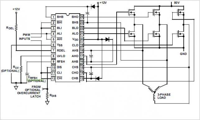 notes and circuits for power mosfet gate driver circuits