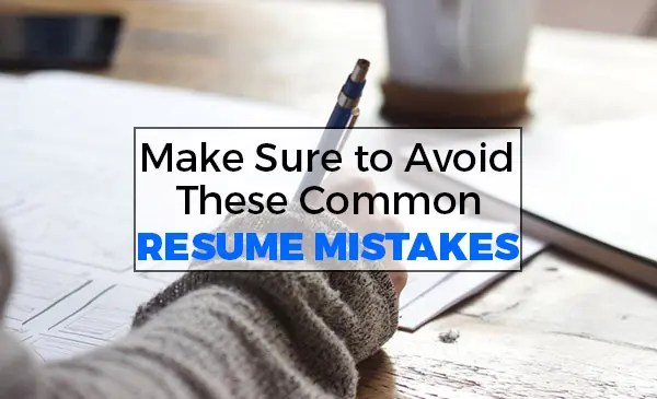 The Most Common Resume Mistakes DataTech Business Centre Blog - common resume mistakes