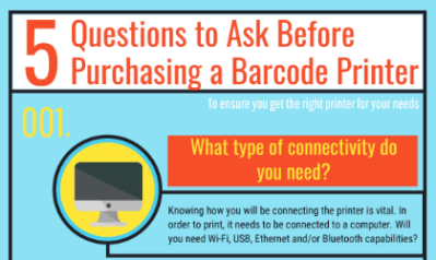 Barcode Printer: 5 Questions to Ask Before Purchasing One