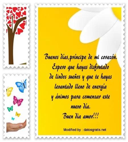 Lindos Mensajes De Buenos Días Para Mi Novio Frases De Buenos Días