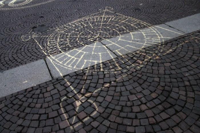 Luci d'artista Torino Lit Sidewalk