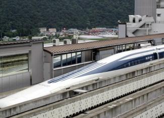 Japanese L0 maglev train