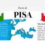 Leaning Tower of Pisa Facts Infographic