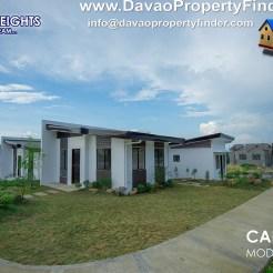 Long shot Carmina house at Aspen Heights, Communal, Buhangin, Davao City