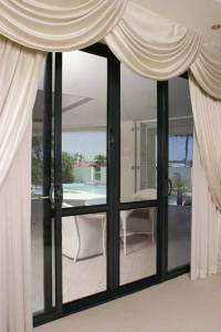 Security Screens for French Doors - Crimsafe Tweed - Davcon