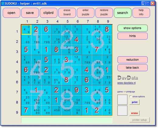 Sudoku Helper - Solver