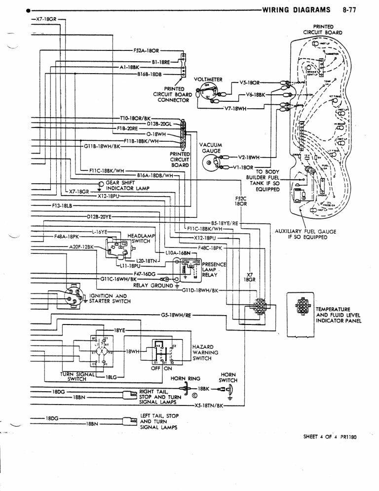 RV HOLDING TANK MONITOR PANEL WIRING DIAGRAM - Auto Electrical