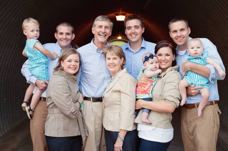 The Burchett Family!