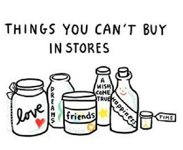 things you can't buy