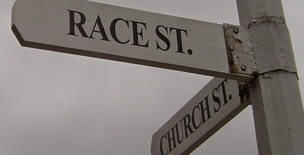 Race sign