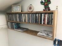 DIY CD Wall Rack | dave eddy