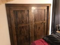DIY Closet Barn Doors | dave eddy
