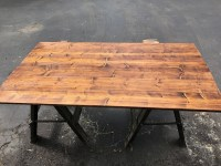 Ikea Patio Table Wood Top | dave eddy
