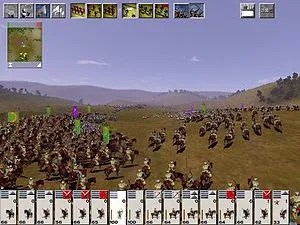Battles in Medieval: Total War can have thousa...