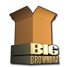 Big brown box logo