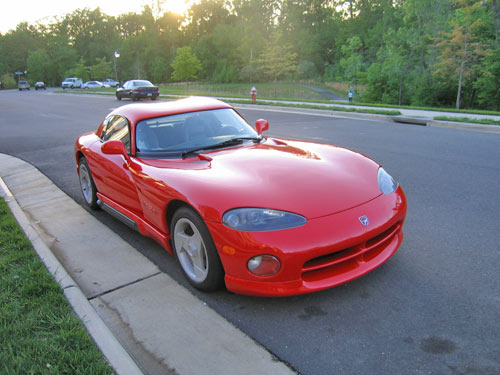 Here is my new Dodge Viper