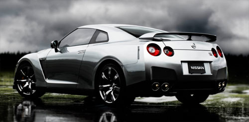 Nissan R35 GT-R rear quarter panel