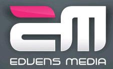 Edvens Media logo