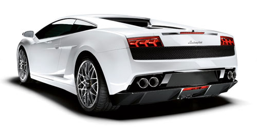Lamborghini Gallardo LP560-4 rear quarter