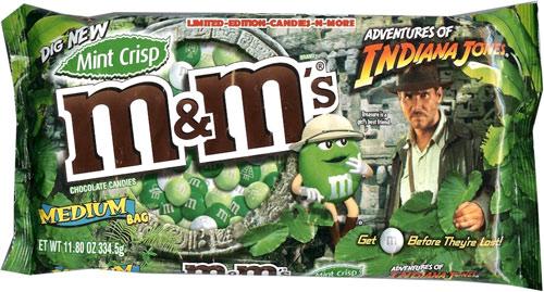 Mint crisp M&M\'s