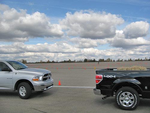 Trucks autocross