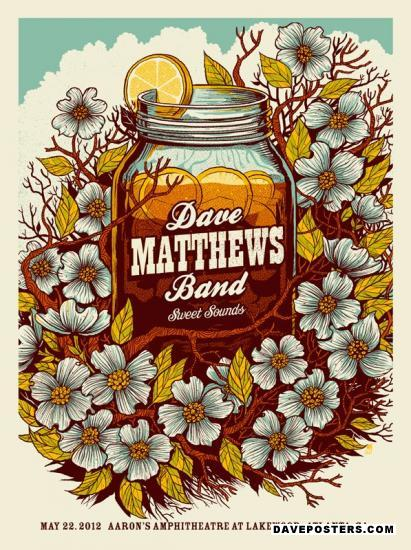 Poster Gallery - Dave Matthews Band Posters / DMB Posters at