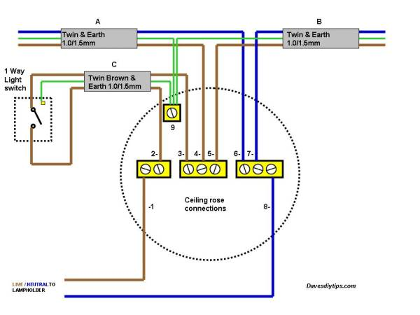 Pendant Light Wiring Diagrams Wiring Diagram 2019