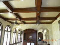 Foam Coffered Ceiling Beams | Review Home Co
