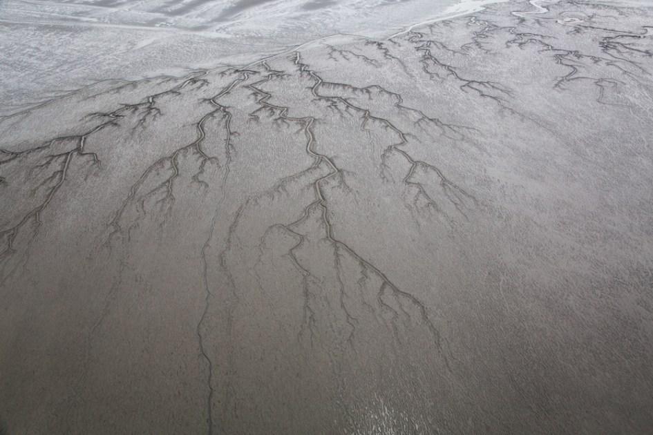 Mud Flat Aerial