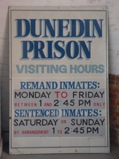 Dunedin visits