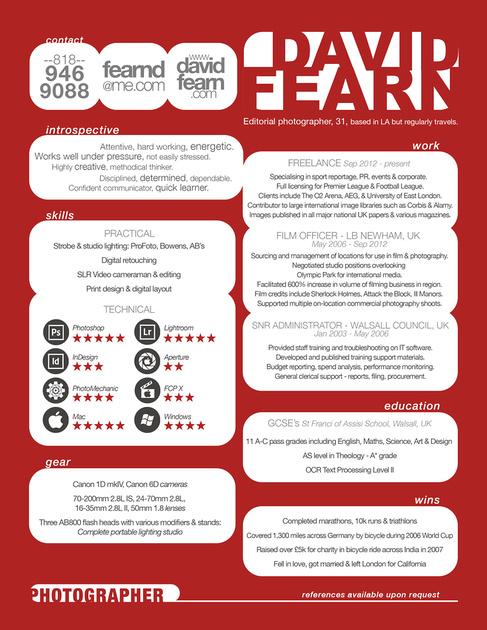 David Fearn Resume - update my resume