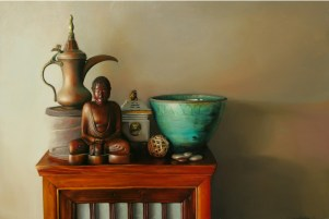 Faith in Things Unseen, 2011, Oil on Panel, 18″x24″, $3250