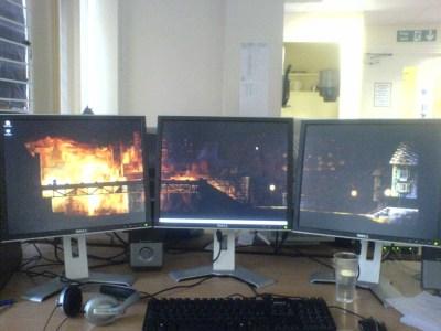 » Blog Archive » 1 Wallpaper + 3 Monitors = 4